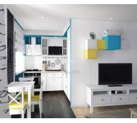 Летиция - кухня 6 кв метров