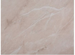 2385-Мрамор бежевый светлый (глянец) - стеновая панель для кухни (фартук) 3050х600х5 мм
