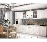 Кухня Еванс цвет светлое дерево 3,3 метра - набирается поэлементно