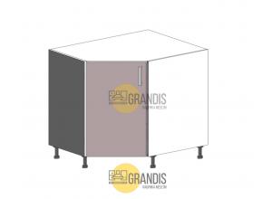 Кухонный корпус (стол) угловой (1 полка) 900×900 на 2 двери