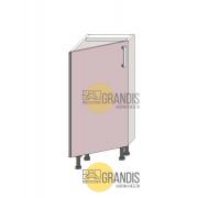 Кухонный корпус (стол) скошенный (1 полка) 720×300×360 мм