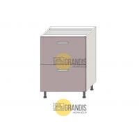 Кухонный корпус - стол (2 ящика) 720×1000×560 мм