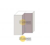 Кухонный корпус навесной - переходной с фальшпанелью (1 полка) 720×900×300 мм