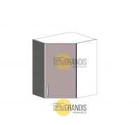Кухонный корпус навесной трапеция (1 полка, 2 двери) 720×600×300 мм