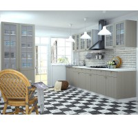 Кухня Деми цвет серый 3,6 метра - набирается поэлементно