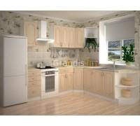 Кухня Полли цвет берёза 1,9 метра - набирается поэлементно