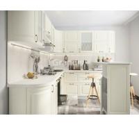 Кухня Шарлот цвет дуб фактурный кремовый 2,6 метра - набирается поэлементно