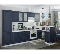 Кухня Шарлот цвет Дуб фактурный темный 3 метра - набирается поэлементно