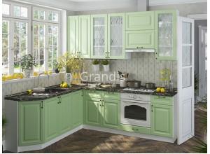 Кухня Шарлот цвет дуб фактурный оливковый 2,3 метра - набирается поэлементно