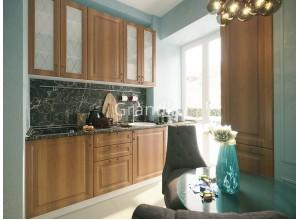 Кухня Шарлот цвет орех фактурный 2,3 метра - набирается поэлементно