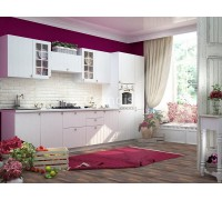 Кухня Деми цвет светлое дерево 3,6 метра - набирается поэлементно