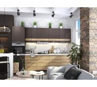 Кухня Смоки цвет смоки софт - сосная белучи 3 метра - набирается поэлементно