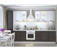 Кухня Китис цвет венге - светлое дерево 3,3 метра - набирается поэлементно