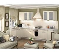 Кухня Тирон цвет ваниль софт 3,4 метра - набирается поэлементно