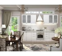 Кухня Тирон цвет белый софт 3 метра - набирается поэлементно