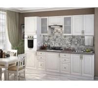 Кухня Юджи цвет белый дуб 2,8 метра - набирается поэлементно