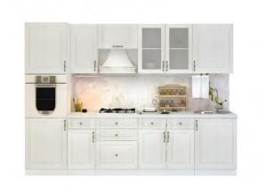 Кухня Юджи цвет белый дуб 3 метра - набирается поэлементно