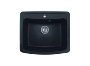 Мойка искусственный камень GF-S605 черная
