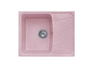 Мойка искусственный камень GF-S610L розовый
