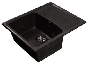 Мойка искусственный камень GF-S610L черная