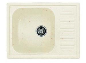 Мойка искусственный камень GF-S645L белая