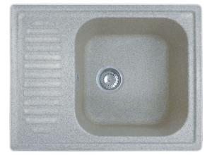 Мойка искусственный камень GF-S645L серая