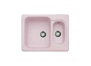 Мойка искусственный камень GF-S615K светло-розовая