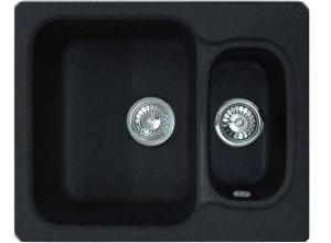 Мойка искусственный камень GF-S615K черная
