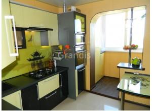 ГЛОРИЯ - кухня с фасадами пленка пвх (размер 2,4 метра)