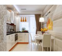 ЭЛЬФРИДА - кухня с высокими столами (размер 1,6×1,4 метра)