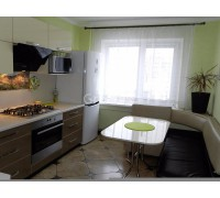 ИНТЕГО - кухня с невысокими навесными шкафами (размер 3,4 метра)