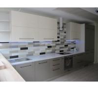 ГРАЦИЯ - кухня с двухцветным сочетанием фасадов (размер 2,6 метра)
