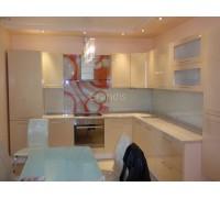 ФРЕЙМ - кухня со столешницей и стеновой панелью (размер 2,7×1,6 метра)