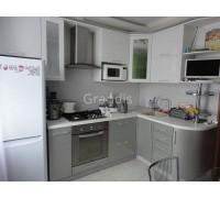 ХАГЕН - кухня с витринами (размер 3,3×1,2 метра)