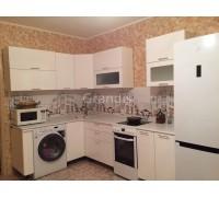 ОЛИВИЯ - кухня с горизонтальными шкафами (размер 2,2×1,3 метра)