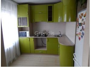 САЛЛИ - кухня с уменьшенной глубиной (размер 2,4×2,2 метра)
