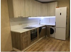 АННЕ - кухня в современном дизайне (размер 3,3×2,6 метра)