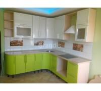 ЛЮСИЯ - кухня с уменьшенной глубиной столов (размер 2,2×1,2 метра)