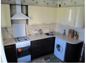 ИЛАРИЯ - кухня со стиральной машиной в хрущевке (размер 2,9×2,2 метра)