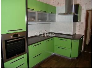 ГЕРТРУДА - кухня с уменьшенной глубиной (размер 2,6×2,5 метра)