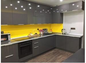 ИЛЬЗЕ - кухня цвета титан (размер 3,4×1,9 метра)