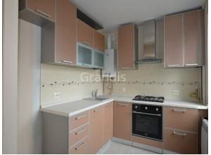 МАРЛЕН - кухня с фасадами постформинг (размер 2,7×1,8 метра)