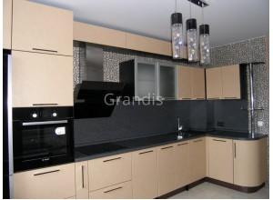 ХИЛЬДА - кухня с фасадами МДФ (размер 2,3×2,6 метра)