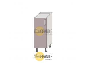 Кухонный корпус, нижний стол (1 полка) 720×150×560 мм