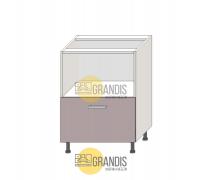 Корпус кухонного стола (ниша + 2 ящика) 720×1000×560 мм