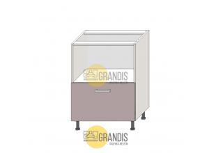 Корпус кухонного стола ниша + 1 ящик 720*1000*560 мм