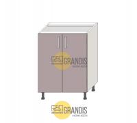 Кухонный корпус, нижний стол (1 полка) 720×600×560 мм