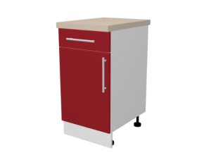 Кухонный корпус, нижний стол с ящиком (1 полка) 720×300×560 мм