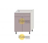 Кухонный корпус, нижний стол с ящиком (1 полка) 720×1000×560 мм