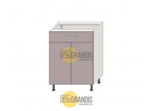 Кухонный корпус нижний стол с ящиком 1 полка 720*1000*560 мм